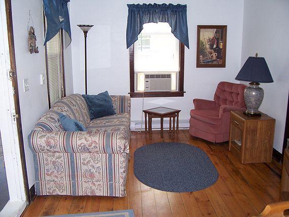 Fishing Hole Cottage sitting room